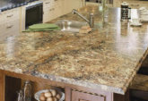 Laminated counter top