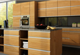 Kitchen cabinets laminated fronts